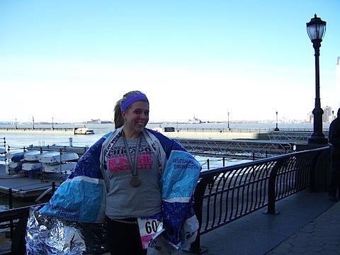 102 1575 NYC 2011 Half Marathon Recap!