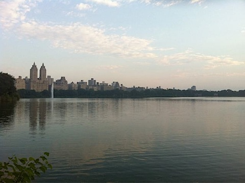 centralpark Sweating With Friends