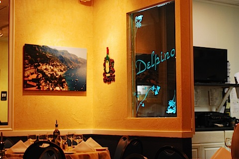I'll meet you any time you want...in our Italian restaurant. (In Franklin Lakes, NJ.)