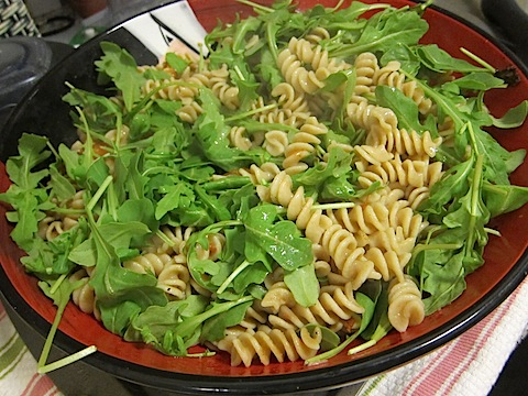 IMG 1934 Week 2 MCM Training + Arugula Pasta