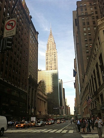 chrysler building A Scary Run