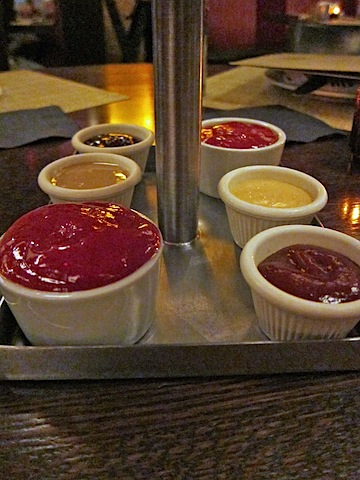 condiments In Rare Form