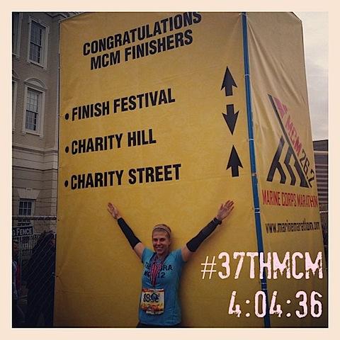 404 2012 Marine Corps Marathon Recap!