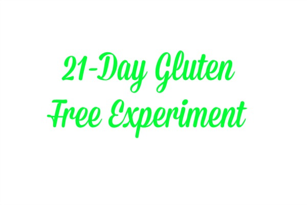 21 day gluten free experiment