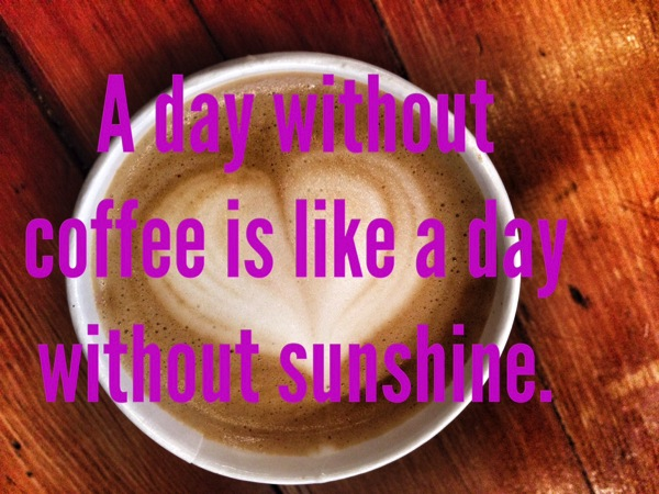 A day without coffee is like a day without sunshine. Dunkin Donuts + Almond Breeze = The Best Pairing Since Will and Kate