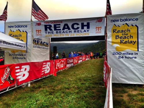 Reach the Beach Relay Start