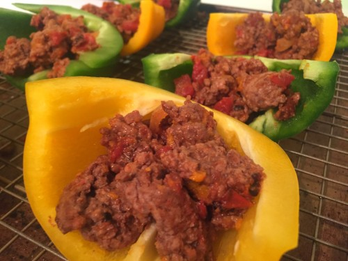 Paleo Whole 30 Stuffed Peppers