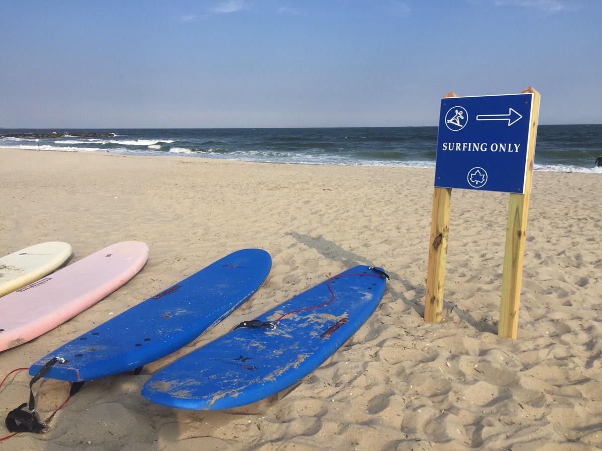 Rockaway Surfing