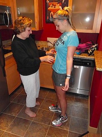 preppy runner mom