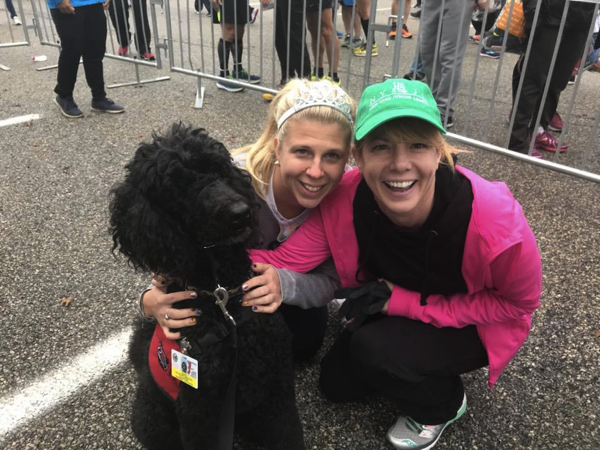 therapy dogs nyc marathon