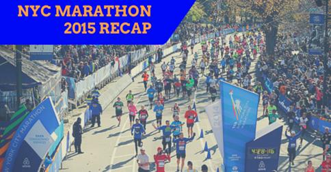 NYC Marathon 2015 Recap